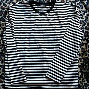 Shein striped top